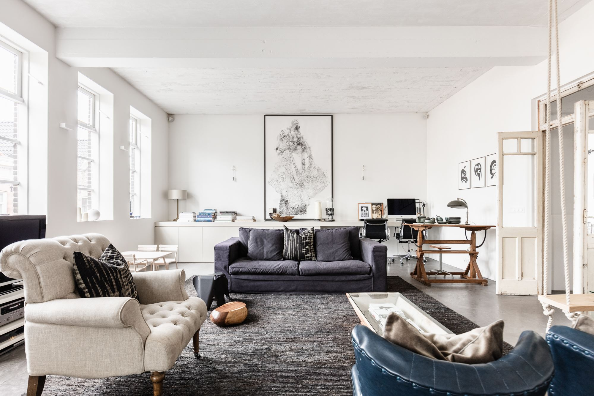 The Nordroom - Serene Loft In A Former School Building in Amsterdam