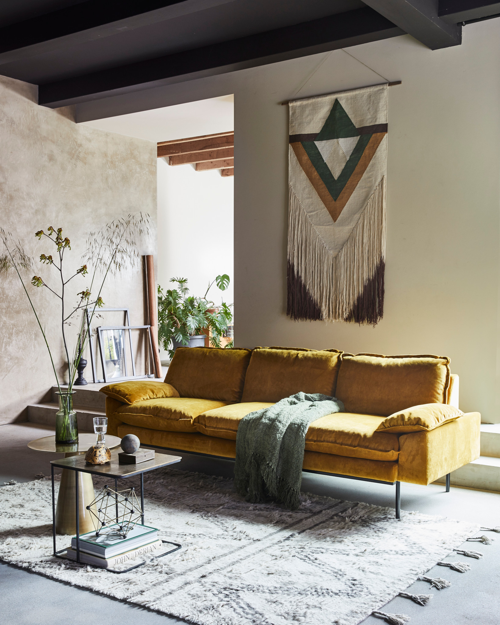 A Color Story  Mustard Yellow in Interior Design — THE NORDROOM