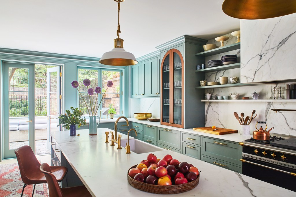 The Nordroom - A Colorful Family Home in Brooklyn