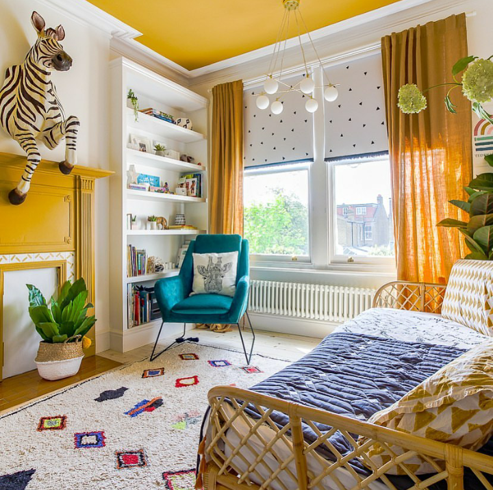The Nordroom - A Vibrant & Colorful Family Home in London