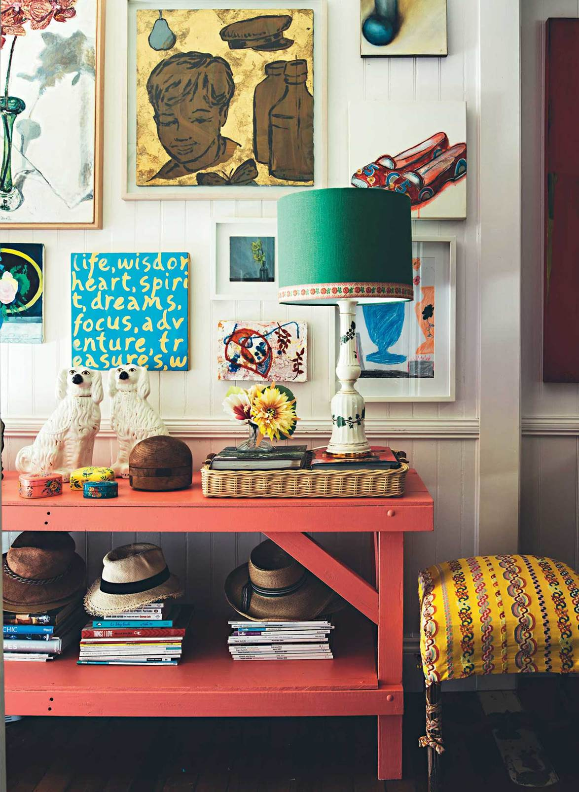 The Nordroom - The Colorful Brisbane Cottage of Interior Designer Anna Spiro