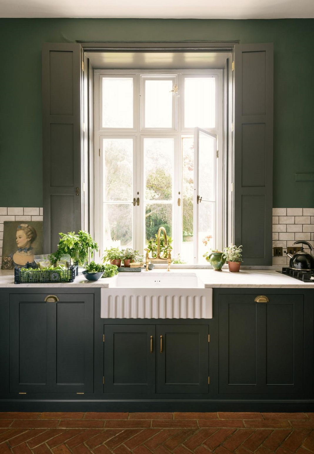 The Victorian Rectory Kitchen By Devol Nordroom