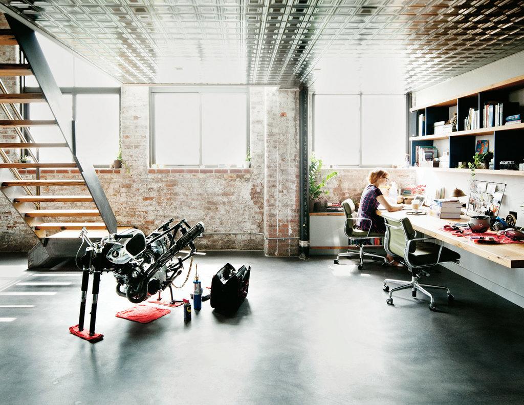 The Nordroom - Minimalistic Industrial Loft of Tumblr Founder David Karp