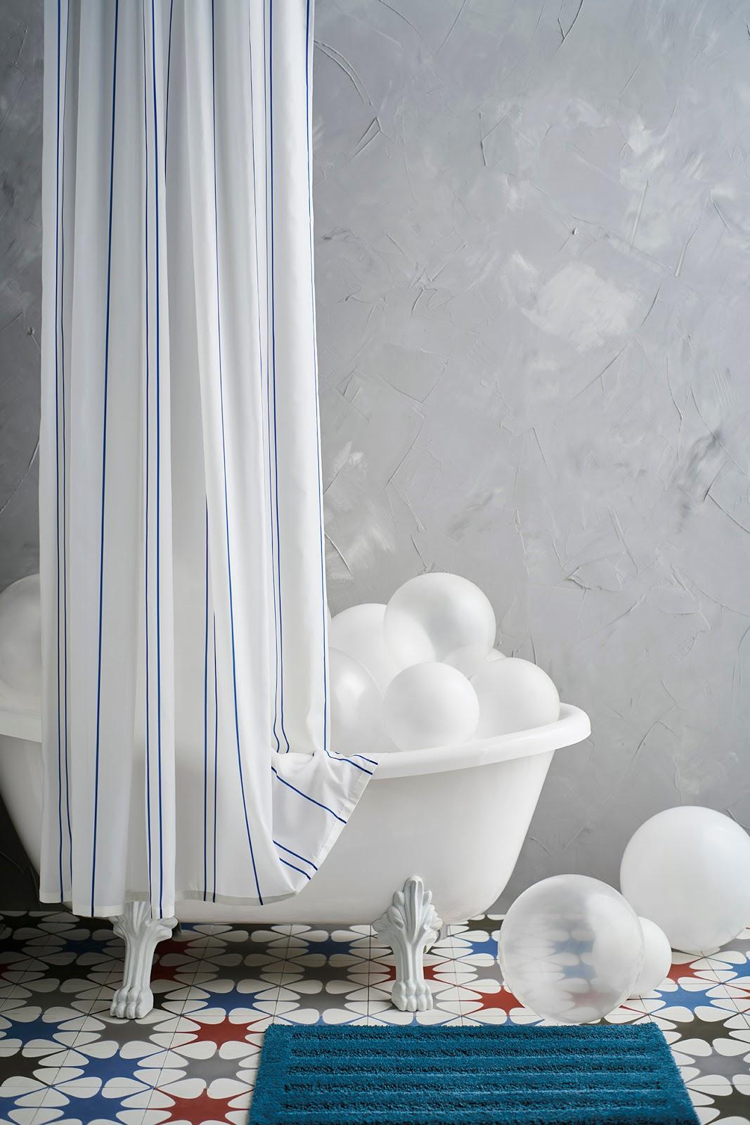 OTTSJÖN shower curtain
