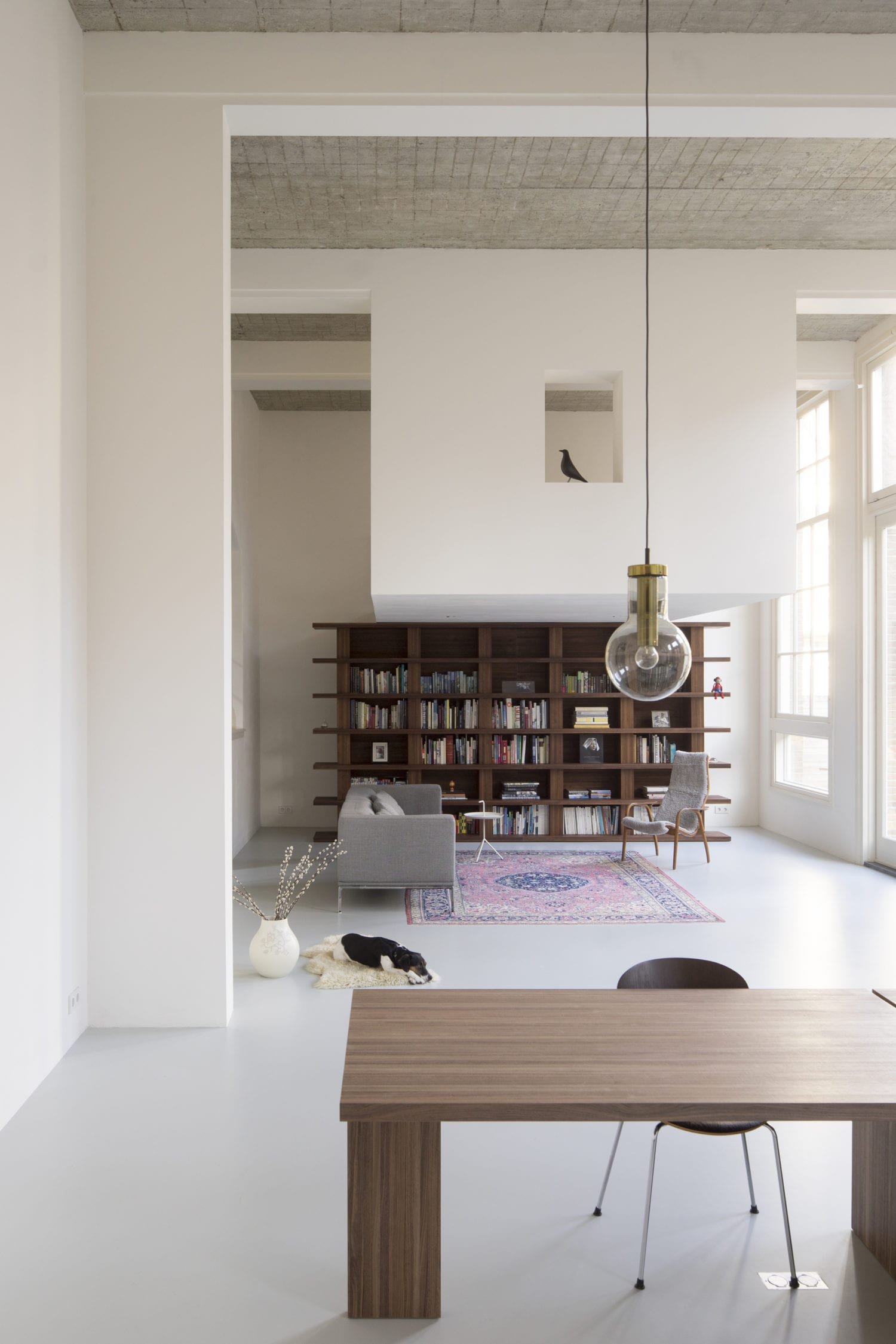 The Nordroom - A Minimalistic Loft in a Former School Building
