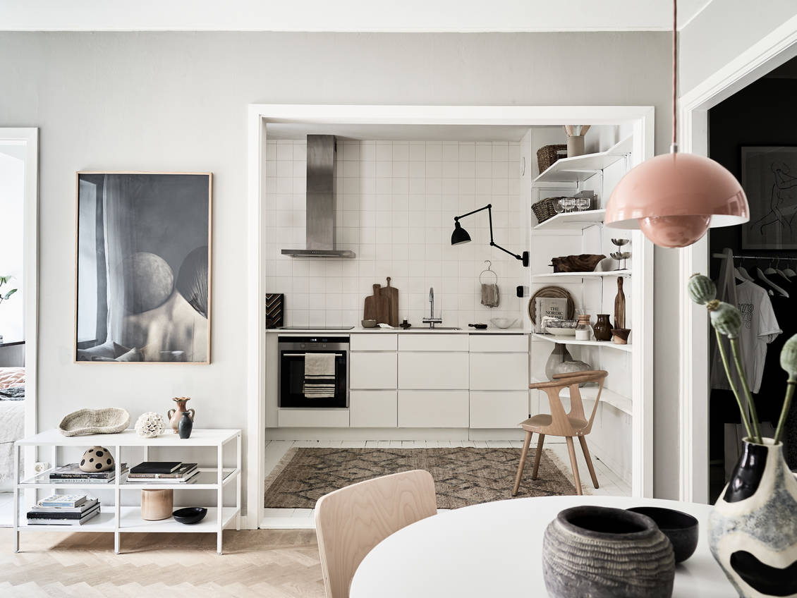 The Nordroom - A Stylish Small Scandinavian Apartment