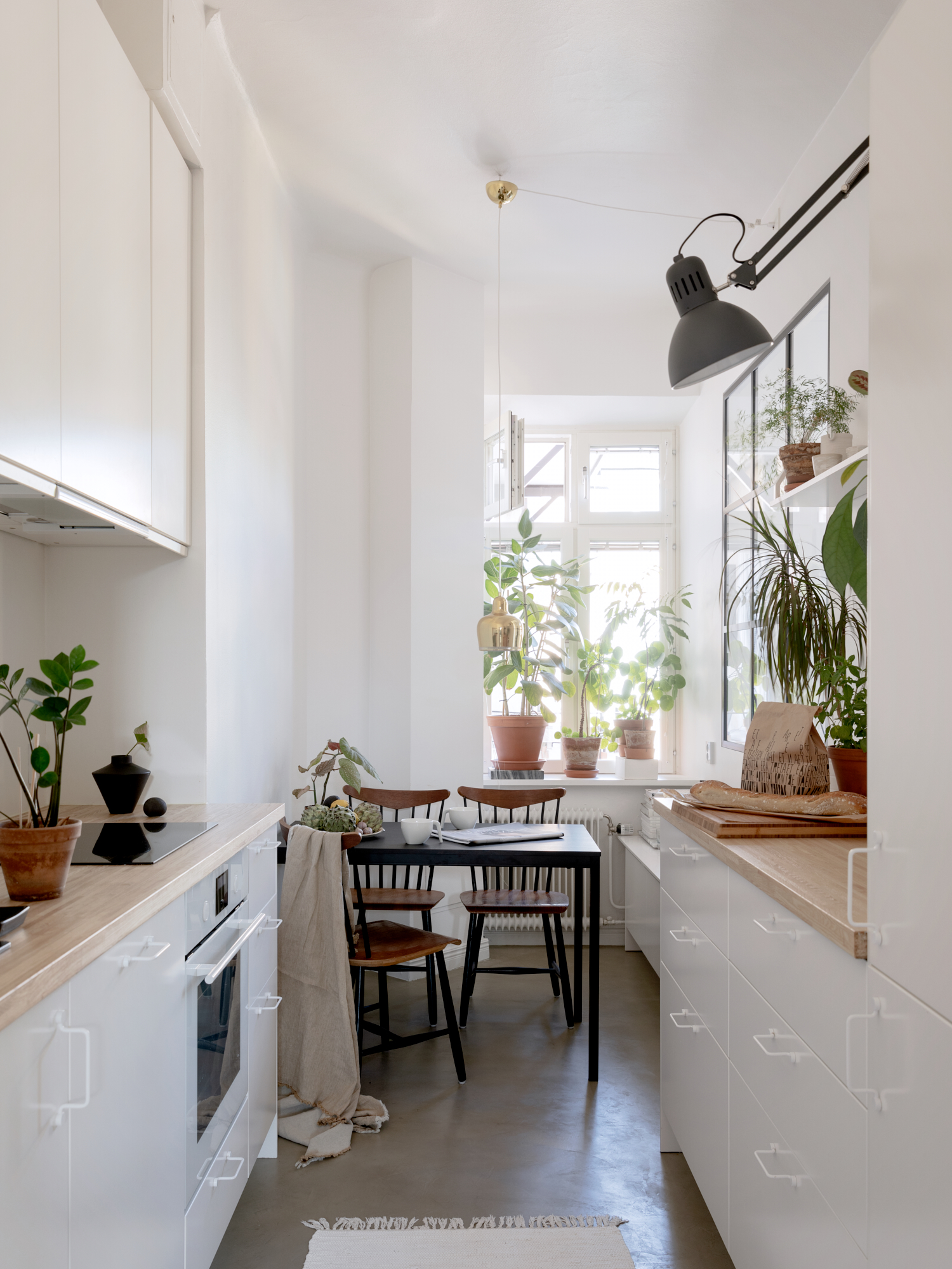 The Nordroom - A White Plant-Filled Scandinavian Apartment