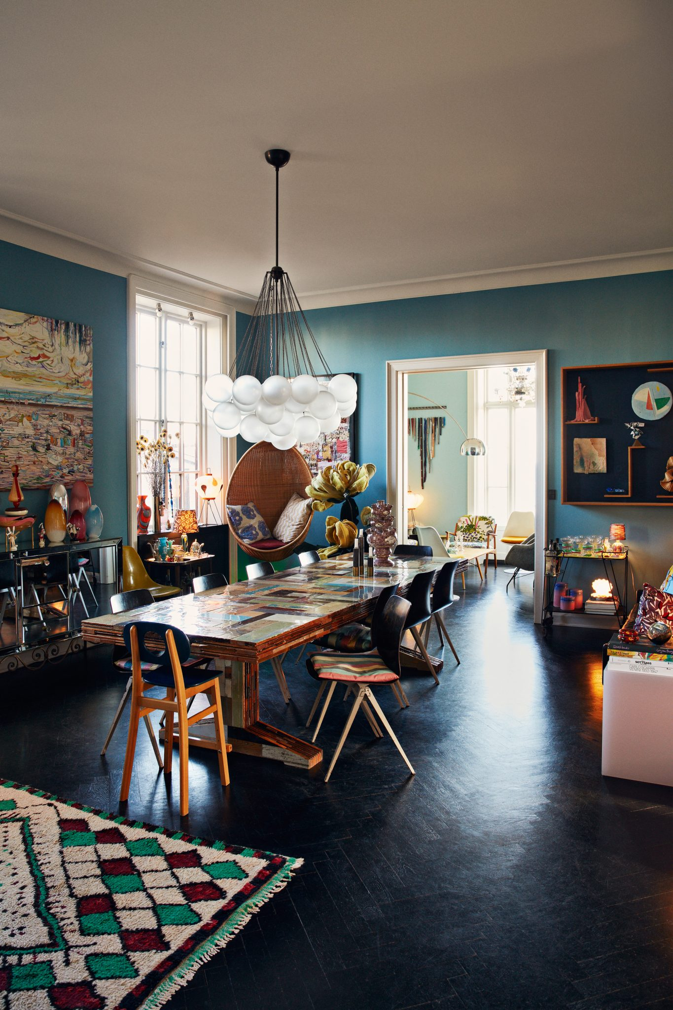 The Nordroom - The Colorful Copenhagen Home of an Art Collector