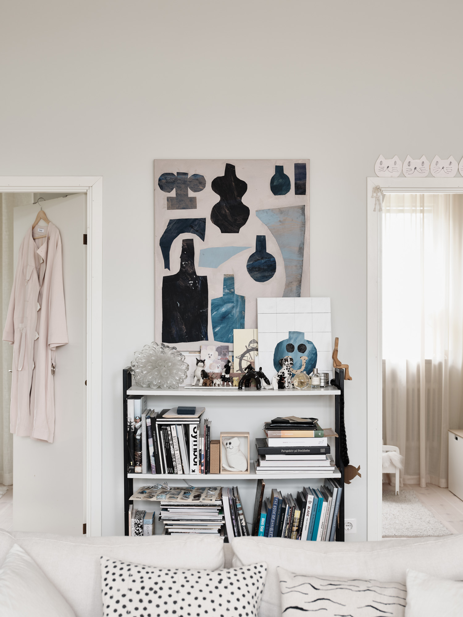 The Nordroom - Subtle Pastel Hues In The Home Of Swedish Artist Emilia Ilke