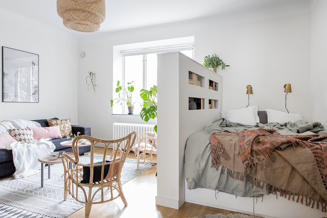 How To Design A Studio Apartment And Create A Smart And Stylish Home The Nordroom