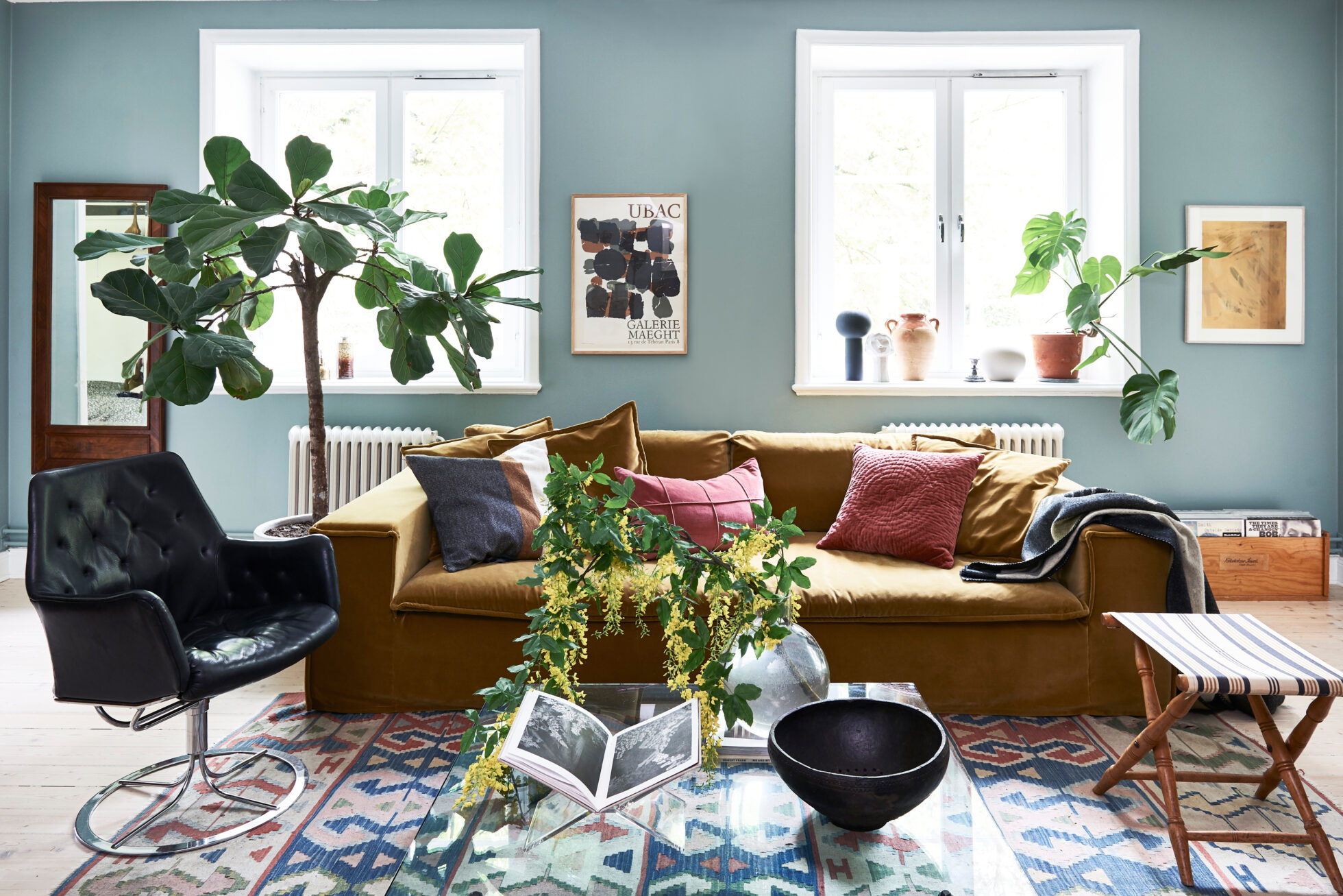 The Nordroom - A Stockholm Apartment With Bohemian and Natural Touches