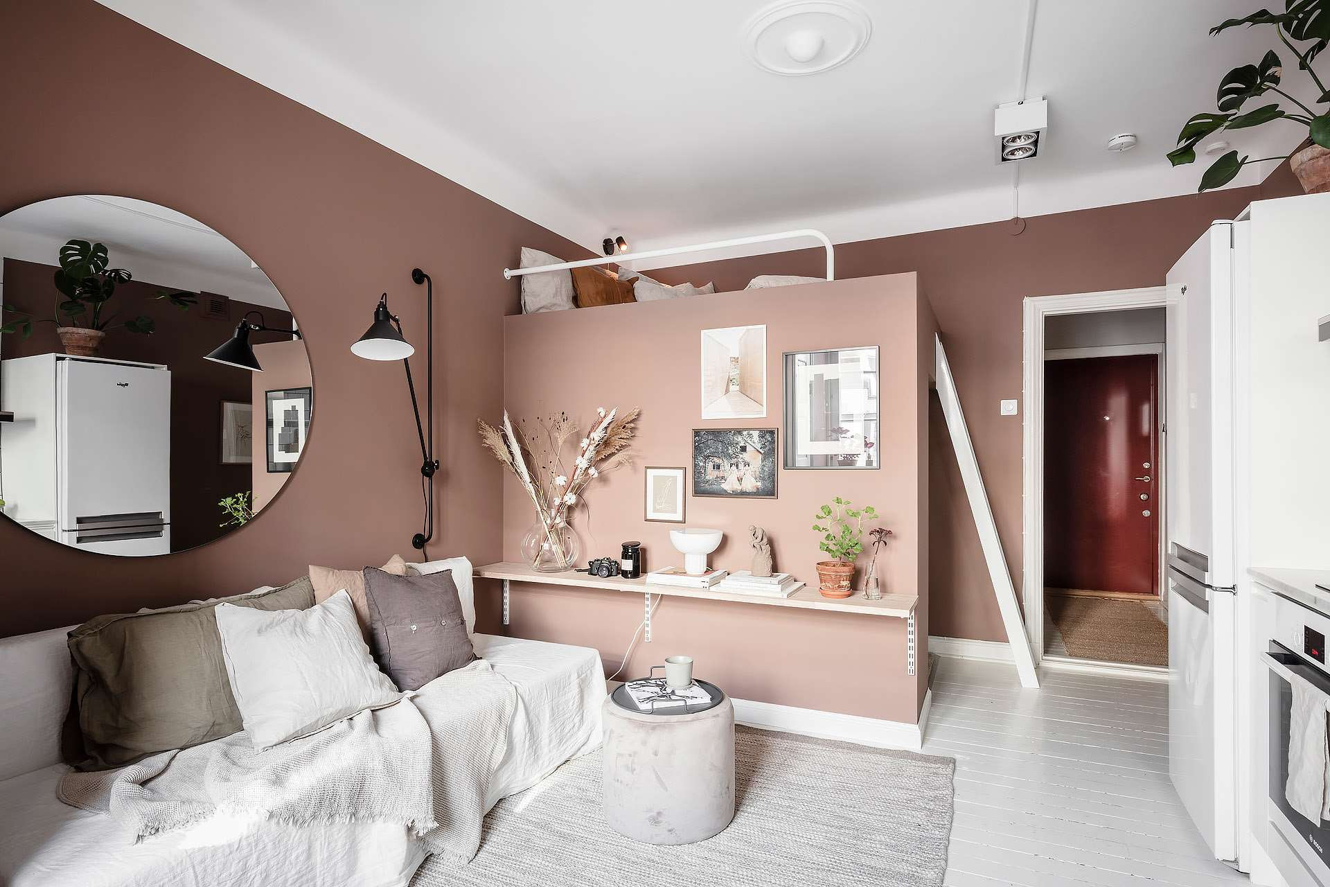 How To Design A Studio Apartment And Create A Smart And ...