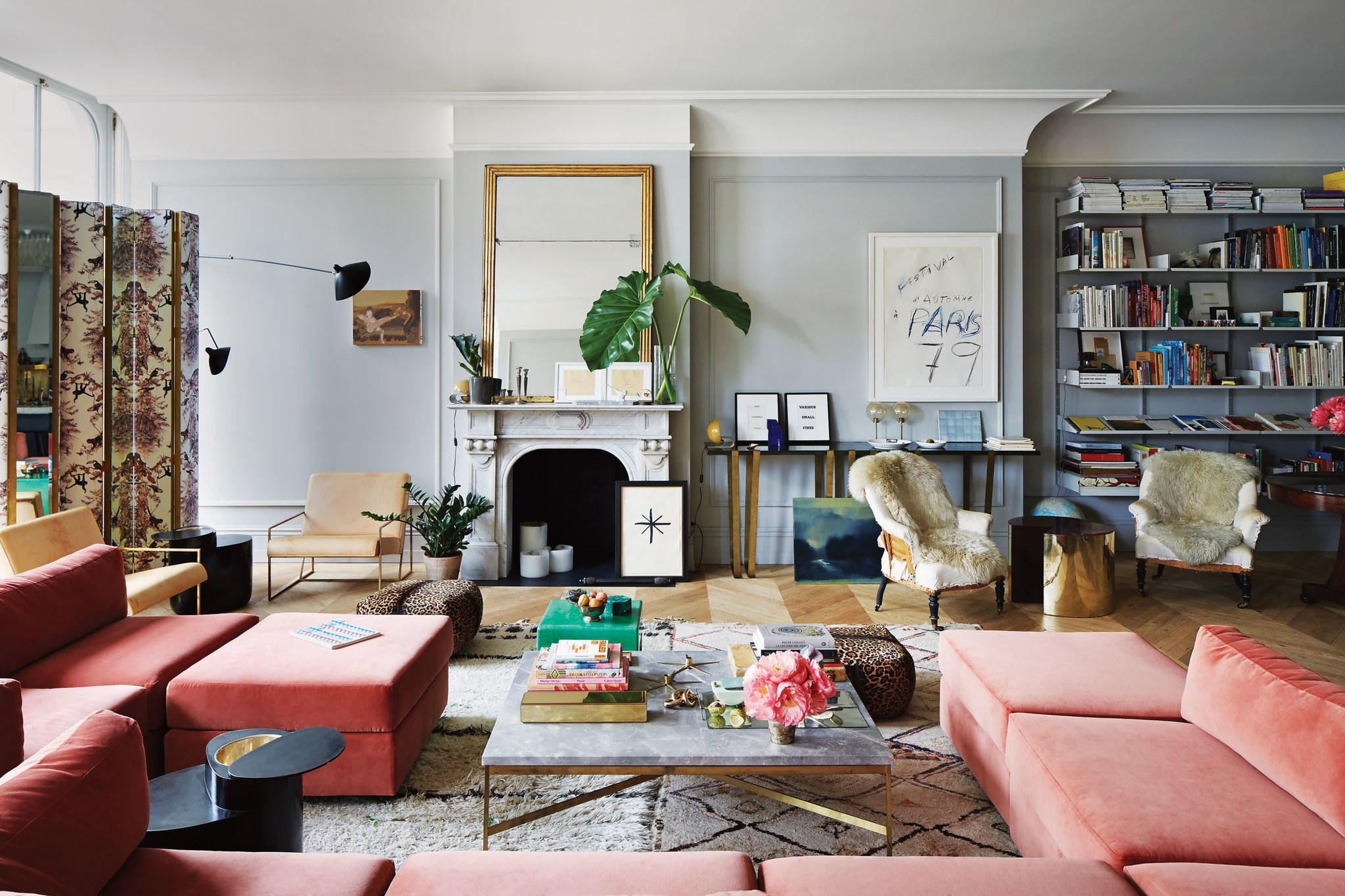 The Nordroom - The Colorful SoHo Loft of Jenna Lyon