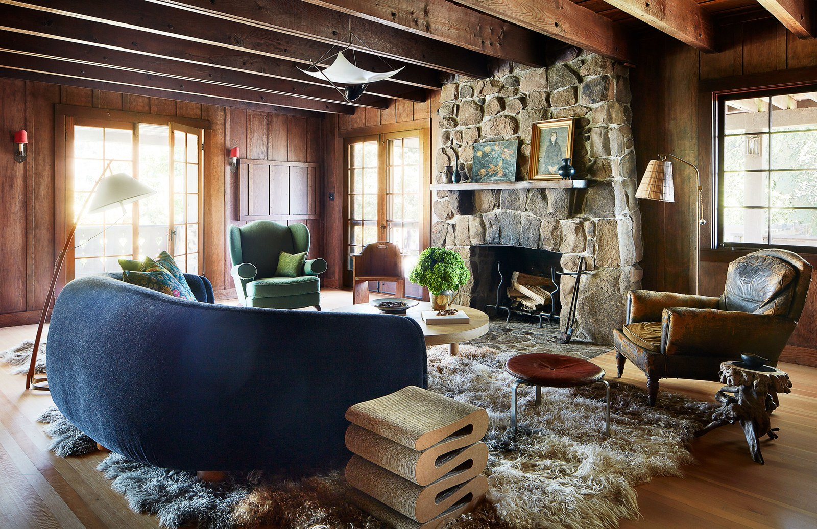 The Nordroom - Anne Hathaway's Comfortable California Coutry Home
