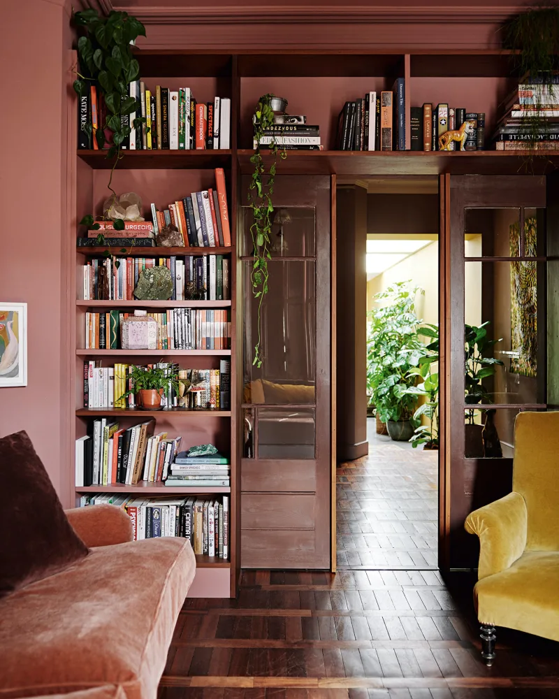 The Nordroom - A Colorful London Home Filled With Re-Used Materials