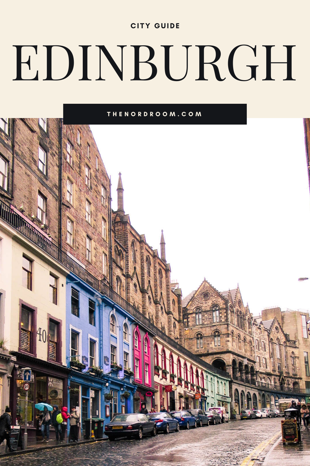 City Guide Edinburgh by The Nordroom