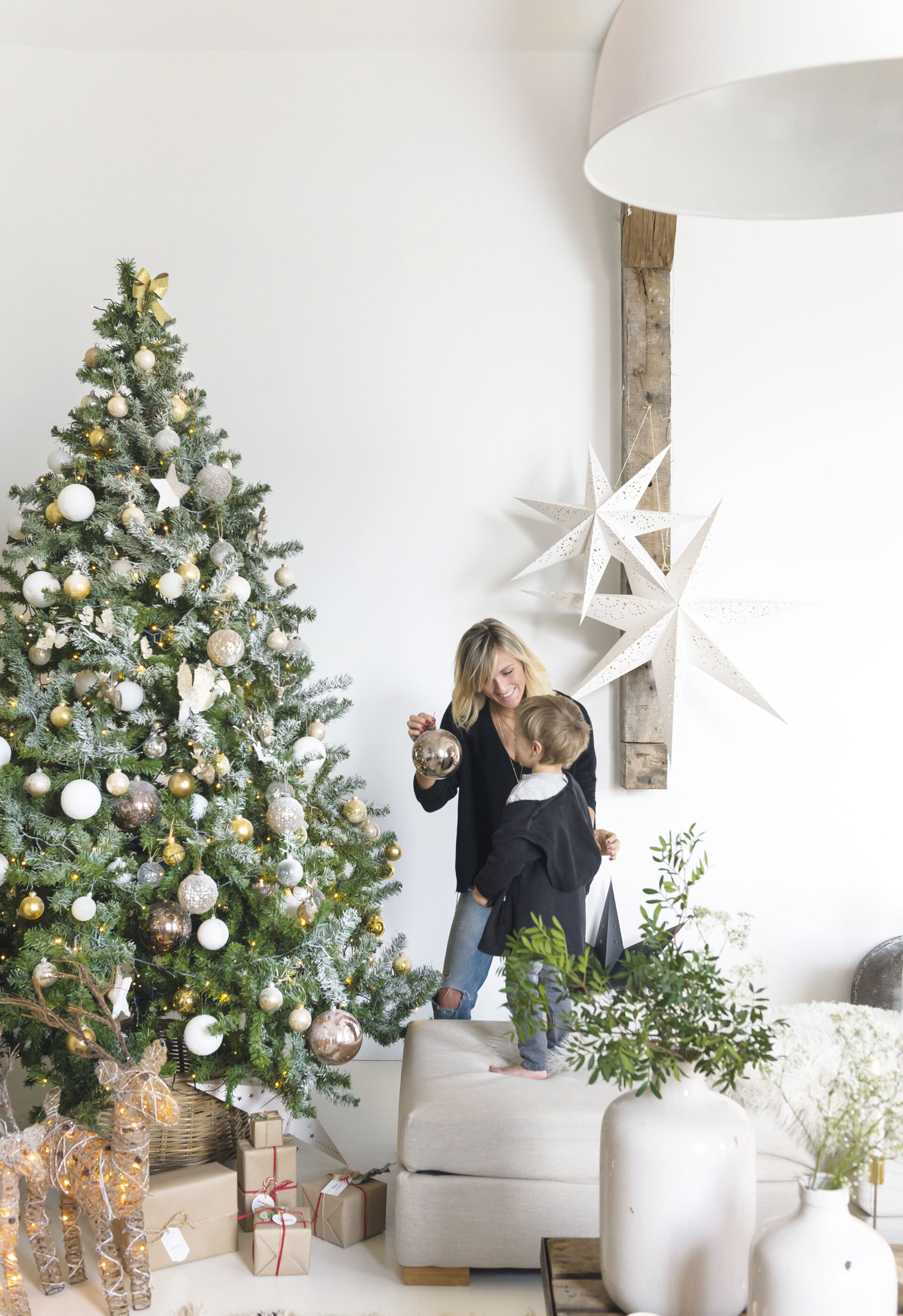 Christmas Decor In A Rustic French Barn Home The Nordroom