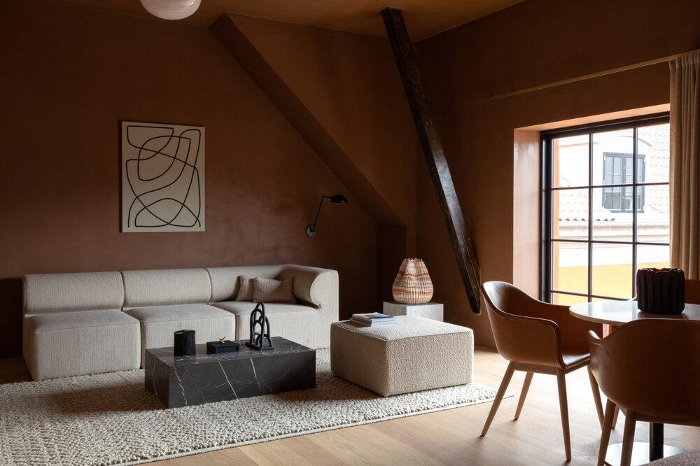 Лучшие дизайнерские отели Копенгагена: The Audo - The Nordroom