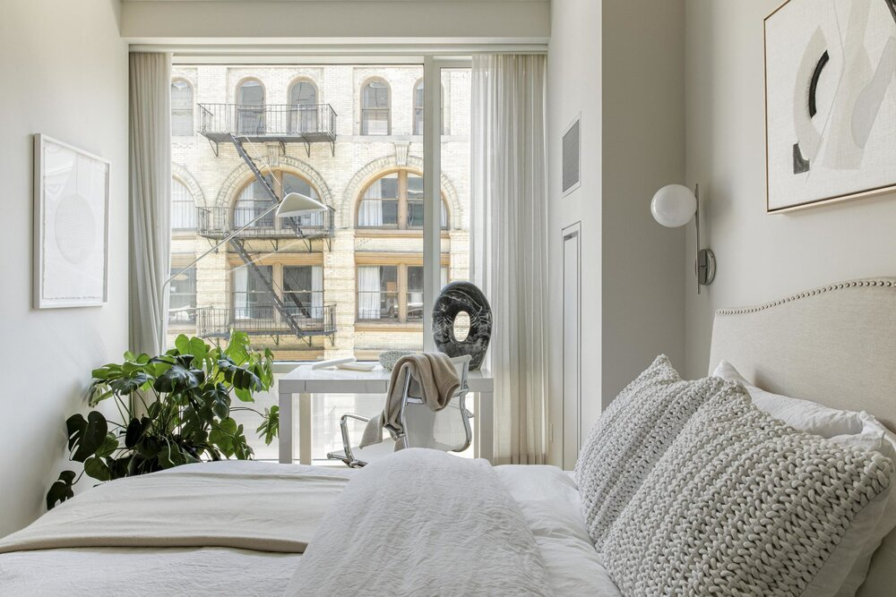 纽约公寓的平静中性色调-The Nordroom