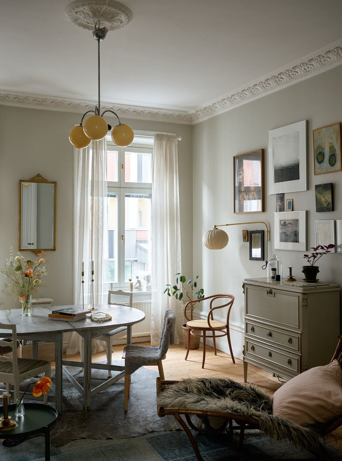 A Lovely Vintage Apartment In Stockholm The Nordroom
