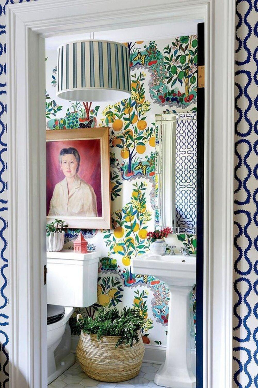 30 вдохновляющих красочных ванных комнат - Nordroom