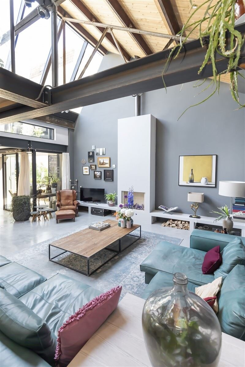 A Modern Industrial Loft In A Converted Amsterdam Factory The Nordroom