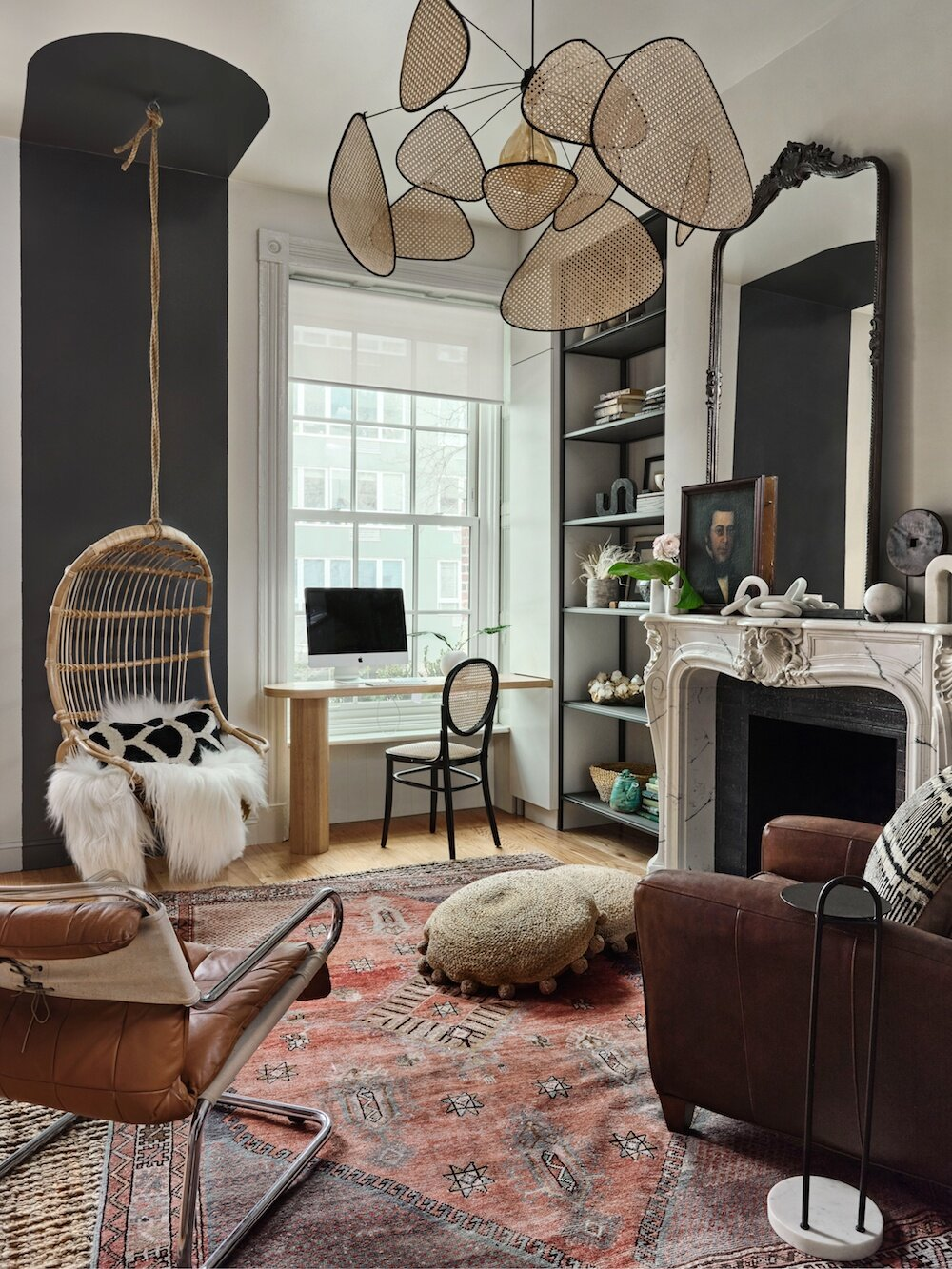 A Warm Brooklyn Brownstone Filled With Interesting Home Decor Ideas The Nordroom
