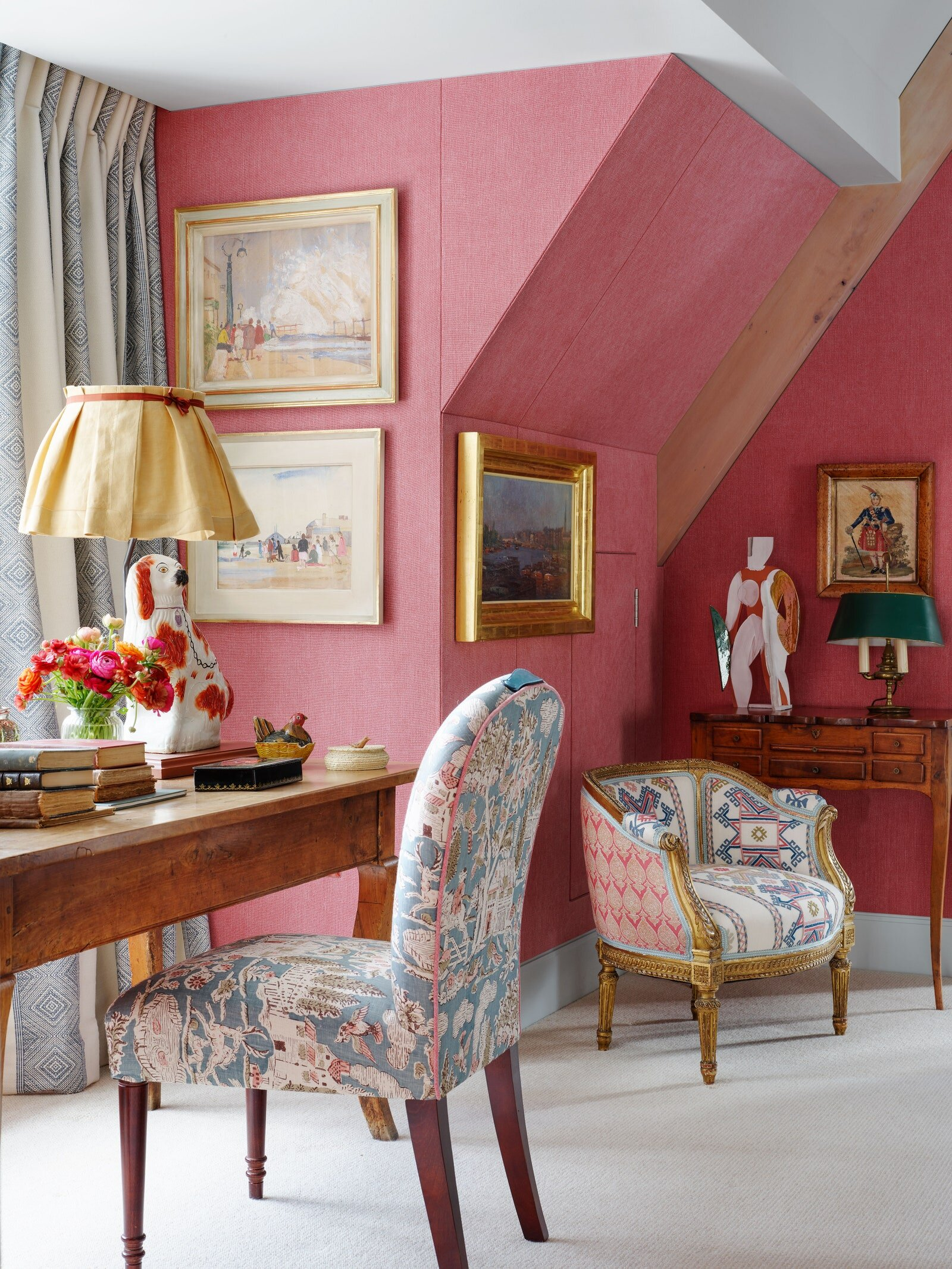 Designer Kit Kemp S Bold And Colorful Hyde Park Home The Nordroom