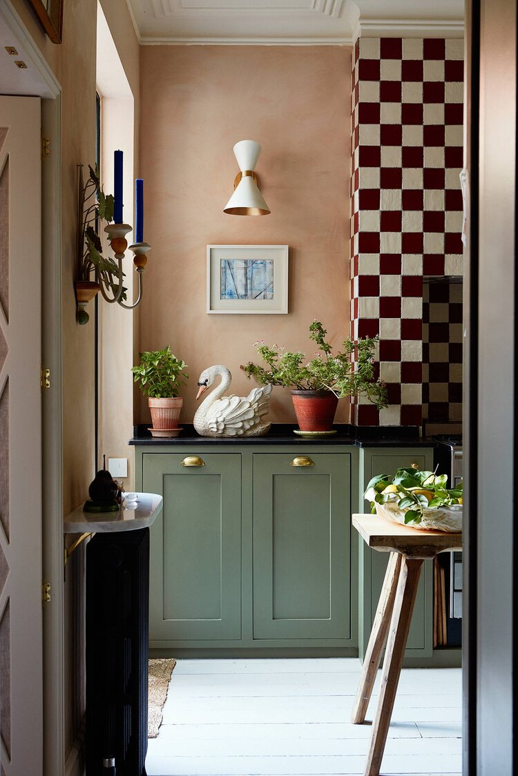 The Eclectic Colorful London Home of Designer Matilda Goad - The Nordroom