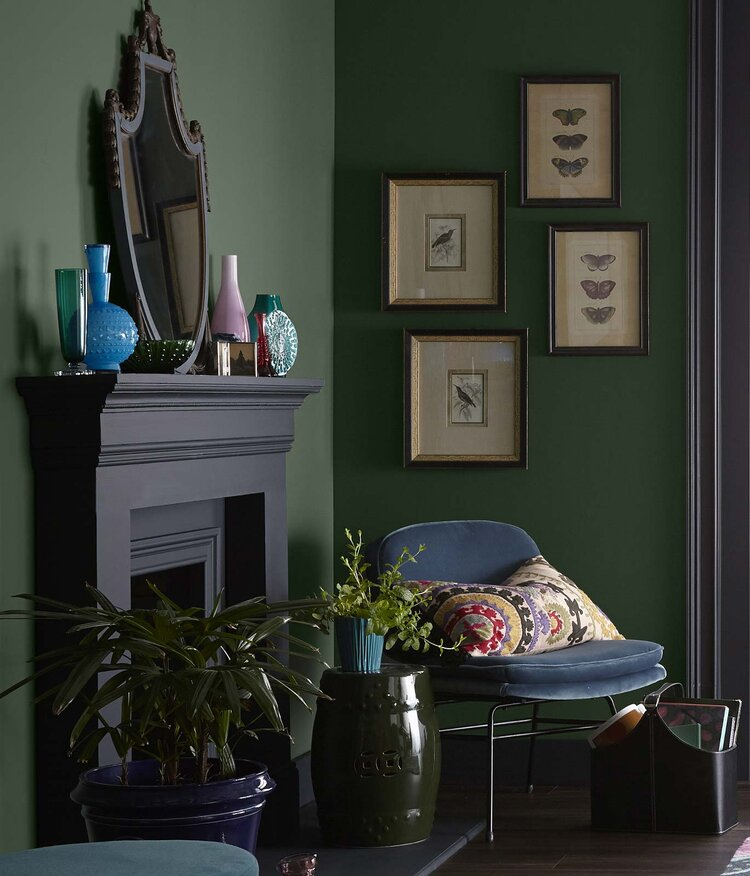 The Color Trends 2021: Behr Quiet Haven Palette - The Nordroom