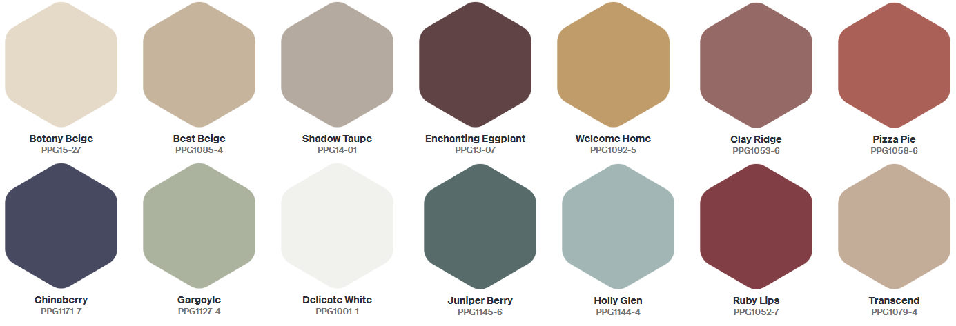 The Color Trends 2021: PPG 'Be True' Palette - The Nordroom
