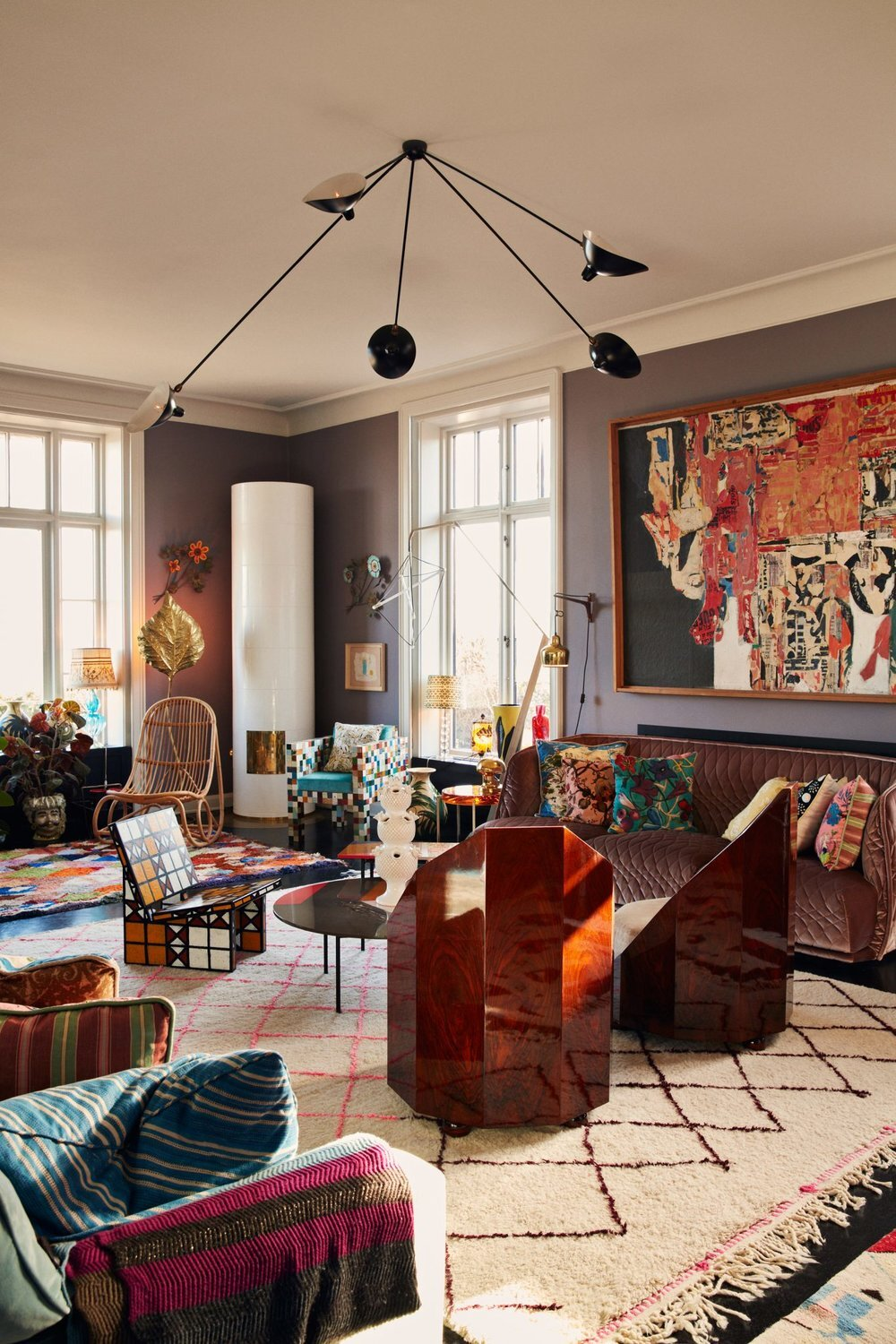The Color Trends 2021: Warm Comforting Hues & Bright Color Pops - The Nordroom