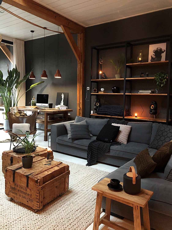 Paint It Black Dark Interior And Exterior Design Ideas The Nordroom