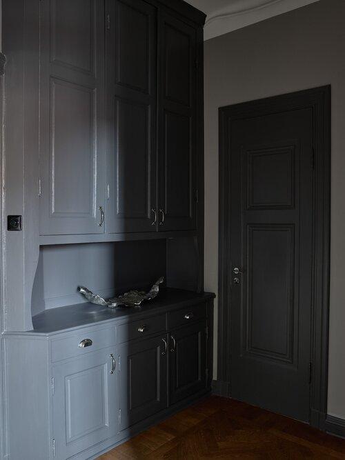 Розовая кухня в яркой скандинавской квартире - Nordroom