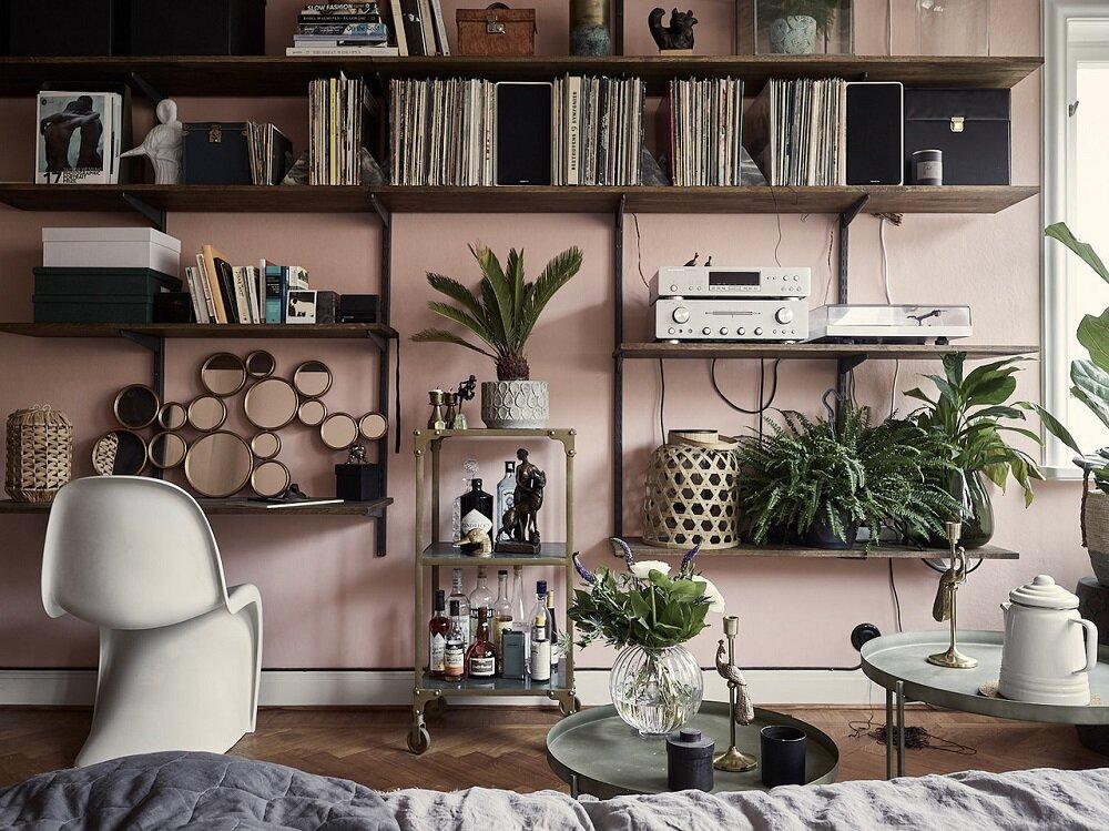 Розовые апартаменты-студио в двух направлениях - Nordroom