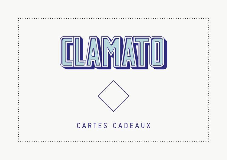 les cartes Clamato