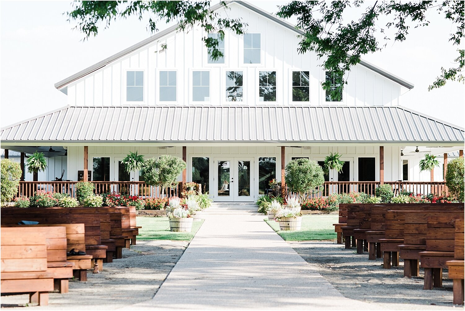 Back image of the Wildflower Wedding and Event Venue in Emory, Texas
