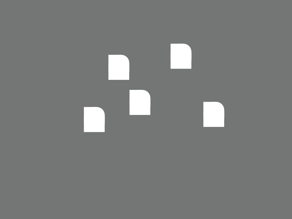 Contour bedrijfslogo vormt basis voor perforaties