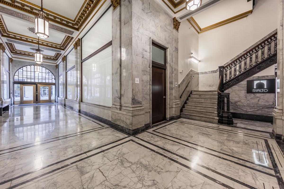 Rialto Carrera Marble Lobby Interior