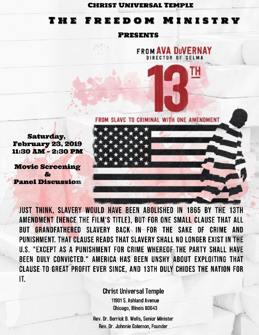 13th Documentary Screening and Panel Flyer.jpg