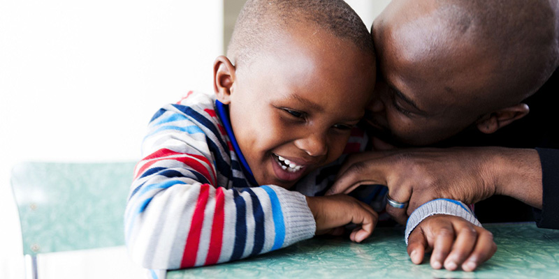 """Attribution to  HuffPost, """"5 Lies We Should Stop Telling About Black Fatherhood"""""""