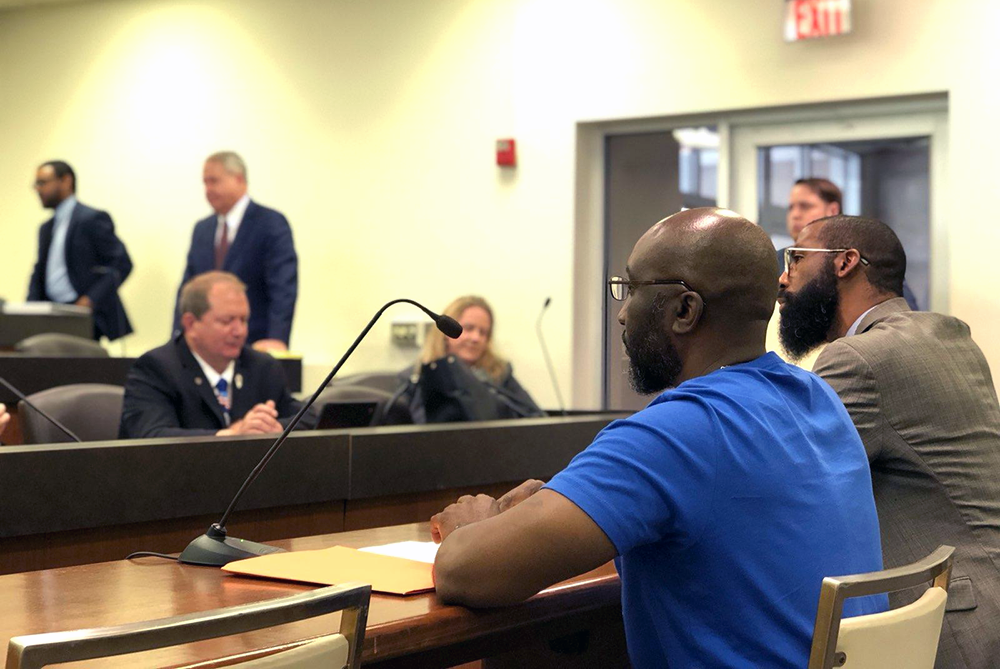 On behalf of RROCI, Yaacov Delaney, CRS organizer for Restoring Rights and Justice Reform, gave powerful testimony in front of the House Judiciary - Civil Committee to support Housing as a Human Right. It passed out of committee 8-5!