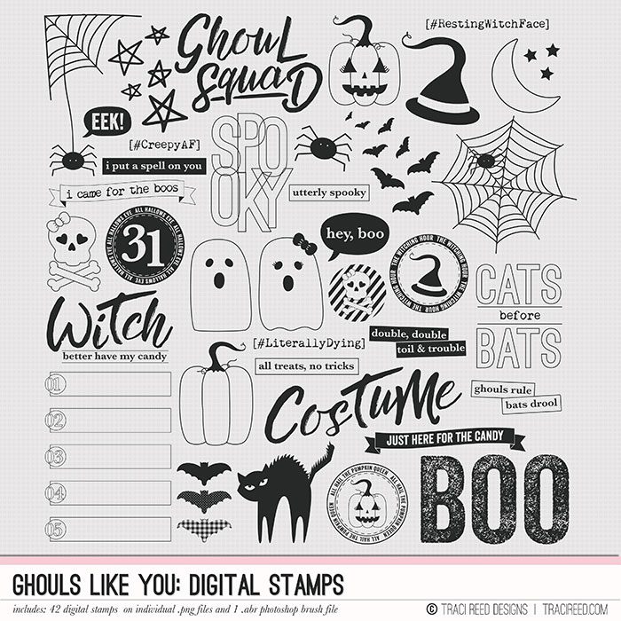 Digital stamps are some of my FAVORITE toys! You can, of course, use them in your photo editing program, but you don't need a photo editing program to use them!  Check out my IGTV video  on using these stamps (and the digital stickers!) in the Letterglow App!