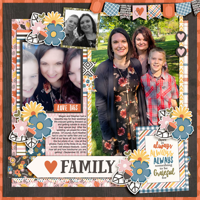 Chrissie created a 12x12 layout!