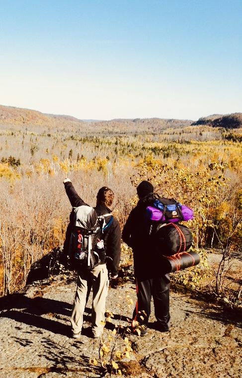 PrCR on a Men's Hiking Trip near Beaver Bay, MN