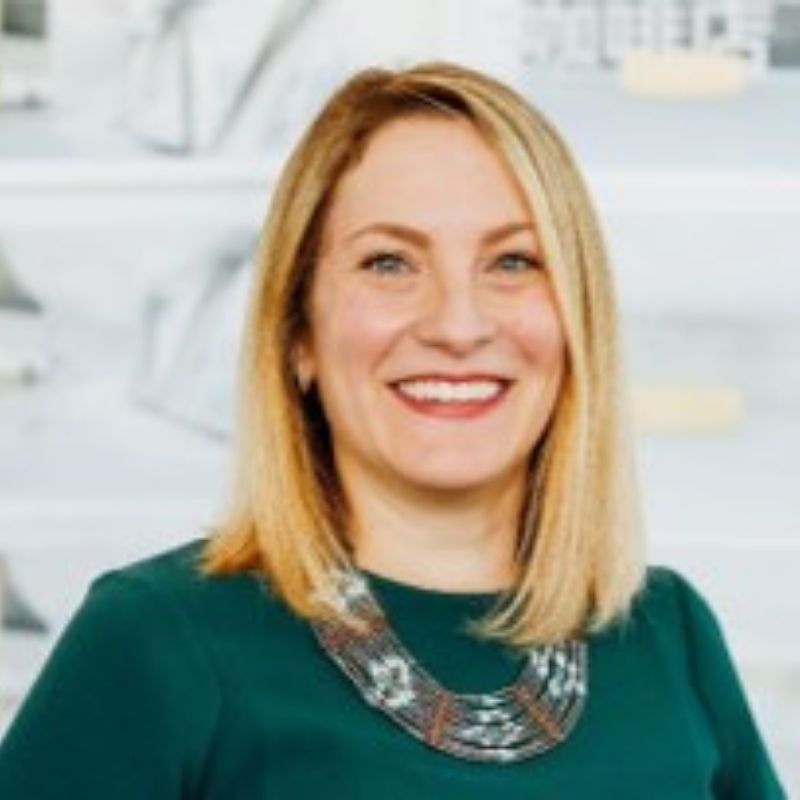 Aimee Eckmann, FAIA, ALEP, LEED AP BD+C - Principal and the Pre-K-12 Practice Leader in the Chicago office of Perkins+Will