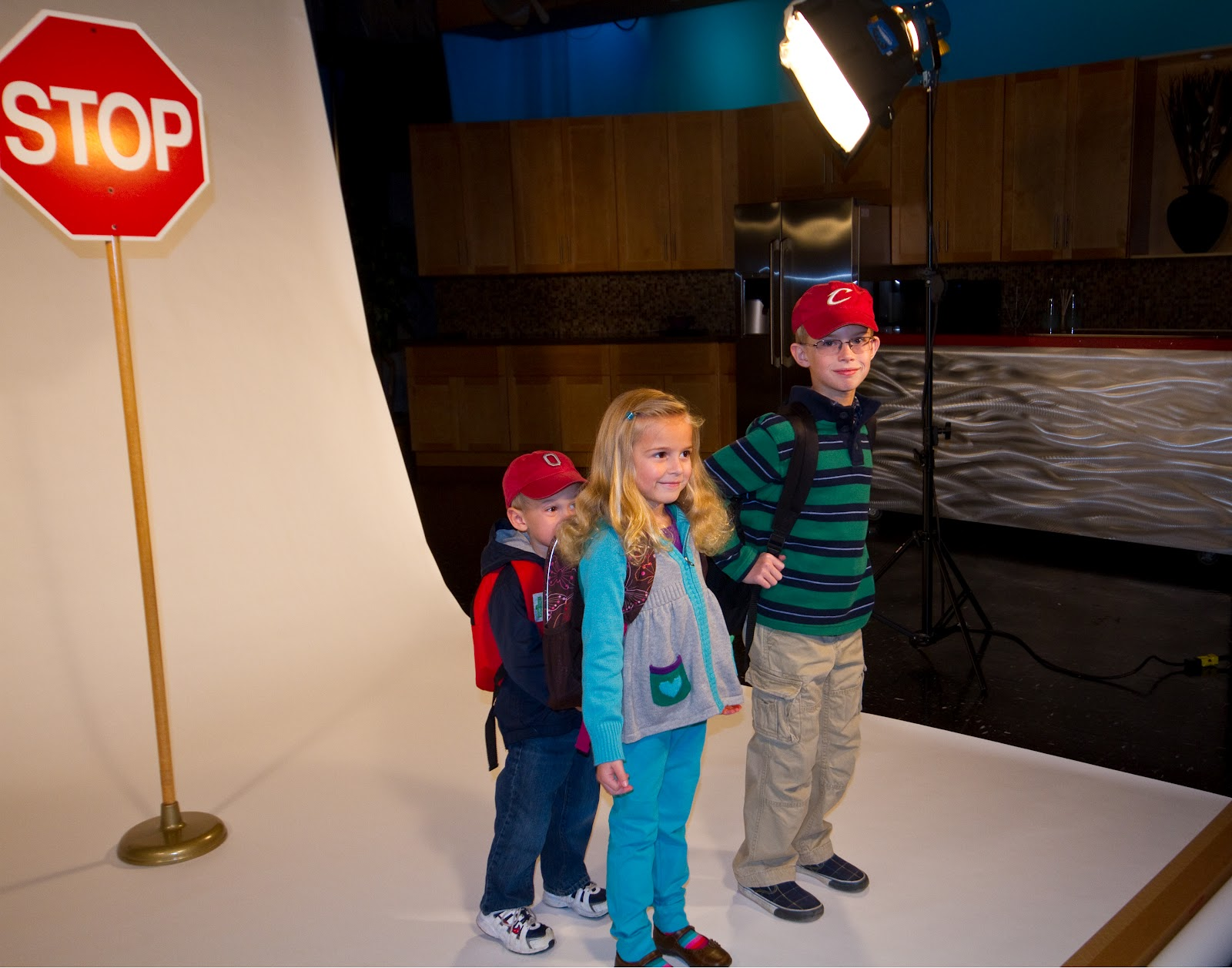 Package 7: See your kids on WKYC on the Bus Stop Forecast. Prize entitles winner to have up to four children between the ages of 4 and 12 featured in the WKYC's Forecast Kids weather segments. Clips air in rotation for approximately three months. | Value: $500 | Minimum bid: $250