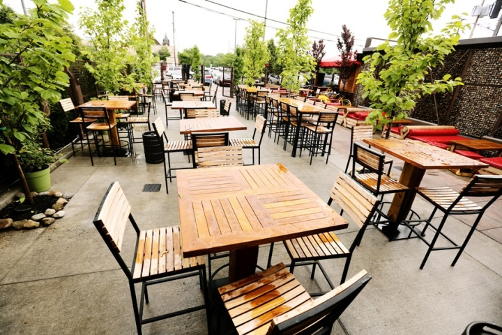 Package 20: Take a tour of some of Cleveland's best patios. Package includes $50 gift cards to Town Hall, Southside, High & Dry, and Georgetown. | Value: $200 | Minimum bid: $100