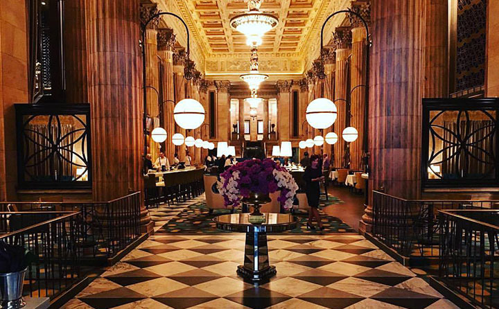 Package 22: Have dinner at the stunning Marble Room Steaks and Raw Bar ($50 gift card) and then spend the night at the Metropolitan at the 9. Includes free valet parking at the 9. | Value: $250 | Minimum bid: $175