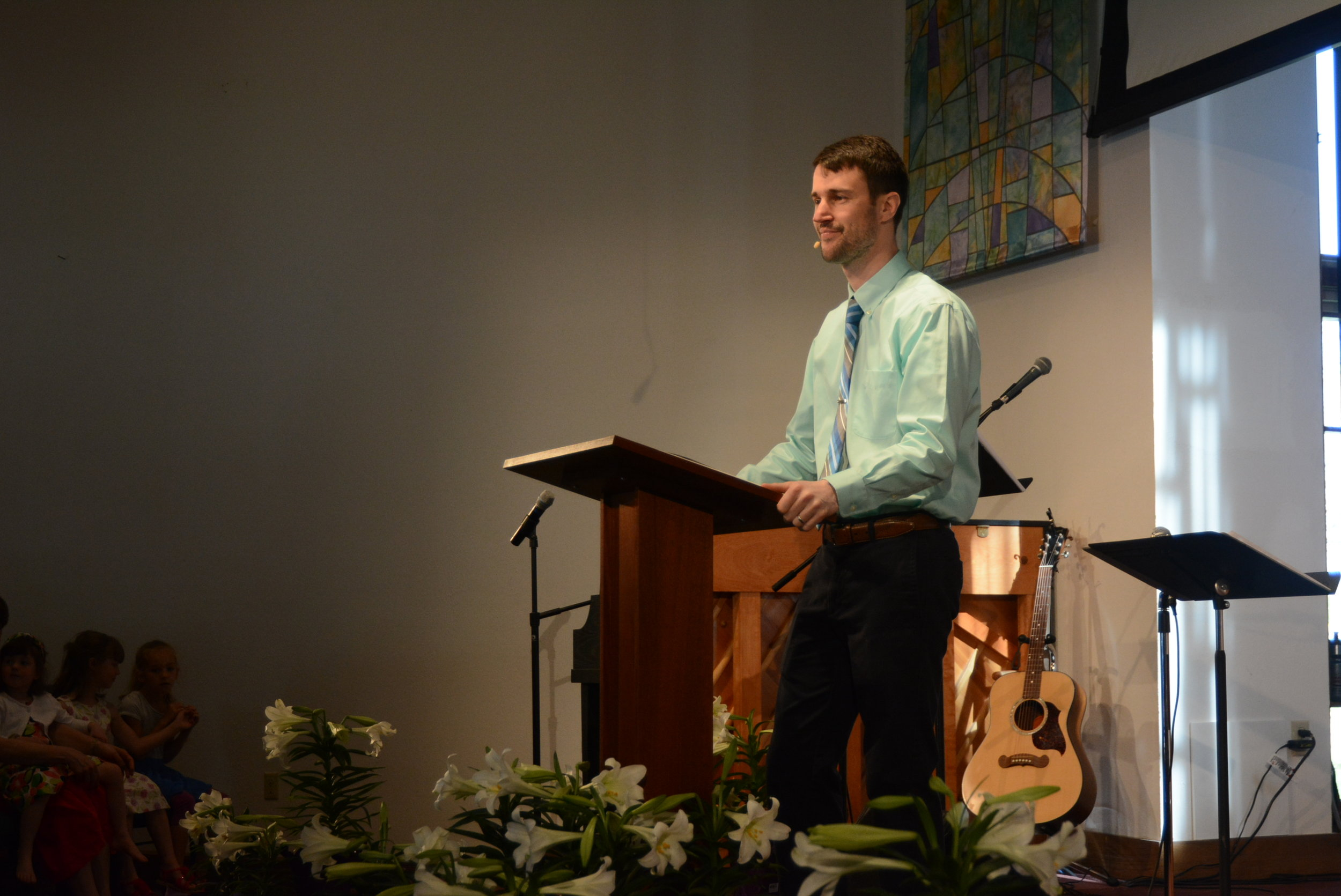 sermons - Check out Pastor Paul's most recent sermon or find one in the archives.